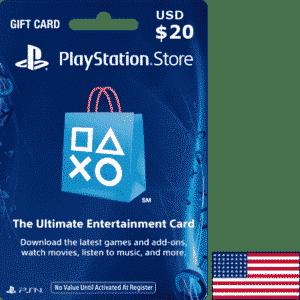 PSN $20 USA