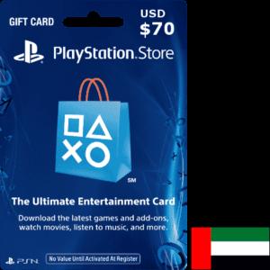 PSN Gift Cards UAE